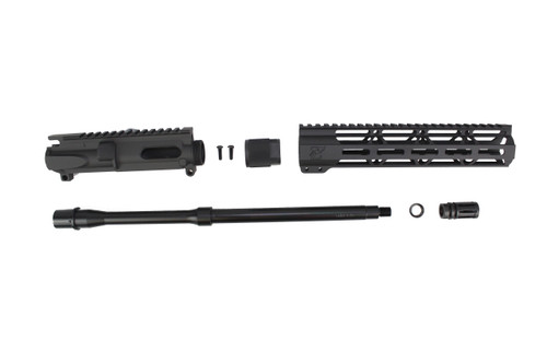 "9mm 'Stinger Series' UPPER KIT / 16"" NITRIDE / 1:10 TWIST / 10"" MLOK HANDGUARD"