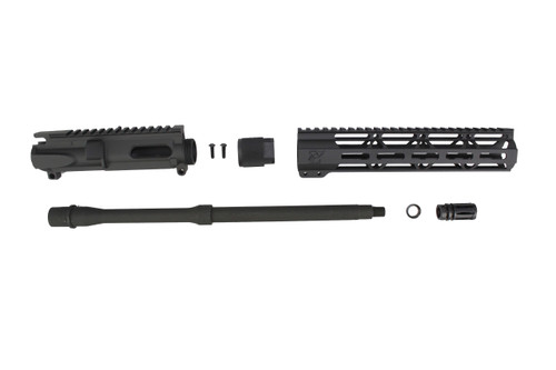 "9mm 'Stinger Series' UPPER KIT / 16"" PARKERIZED / 1:10 TWIST / 10"" MLOK HANDGUARD"