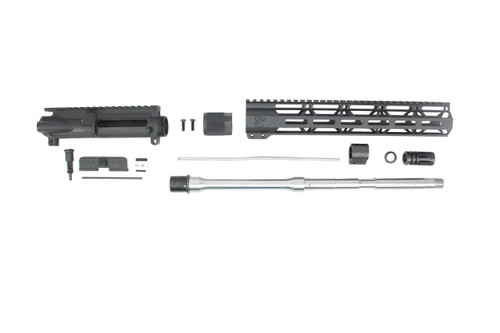 "ZAVIAR 16"" 6.5 GRENDEL STAINLESS STEEL UPPER KIT / 1:8 TWIST / 12"" MLOK HANDGUARD"
