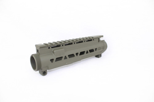 ZAVIAR MAGPUL OD GREEN SKELETONIZED MIL-SPEC AR15 STRIPPED UPPER RECEIVER