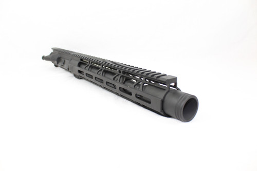 "ZAVIAR 7.62X39 10.5"" NITRIDE UPPER RECEIVER / 1:10 TWIST / FLASH CAN / 10"" MLOK HANDGUARD"