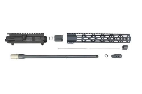 "6.5 Creedmoor 'Infinity Series' 20"" Nitride Upper Kit / 1:8 Twist / 15"" MLOK Handguard"