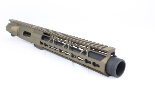 "Z22 'Spitfire Trainer' .22LR Assembled Upper Receiver BURNT BRONZE | 9"" .22LR Barrel 