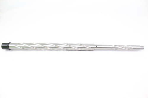 "ZAVIAR 5.56 NATO 20"" STAINLESS STEEL SPIRAL FLUTED 5R HBAR BARREL / 1:8 TWIST / RIFLE LENGTH"