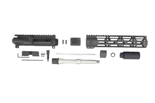 "'TACTICAL SERIES' 7.5"" .223 Wylde Stainless Steel Upper Kit / 1:7 Twist / 10"" MLOK Handguard"