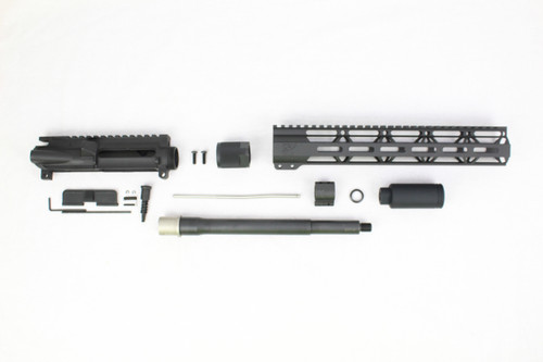 "'TACTICAL SERIES' 10.5"" .223 Wylde Nitride Upper Kit / 1:8 Twist / 12"" MLOK Handguard"