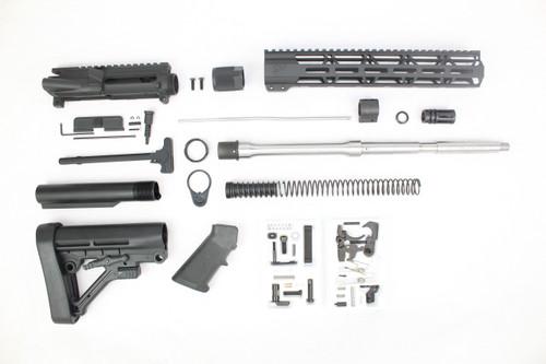 "ZAVIAR 16"" .223 Wylde Stainless Steel (M4) Builder Kit / 1:9 TWIST / 12"" MLOK HANDGUARD"
