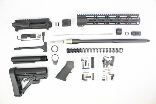 "ZAVIAR 16"" .223 Wylde Nitride 5R Match Grade Barrel with Matching Bolt Builder Kit / 1:8 TWIST / 12"" MLOK HANDGUARD"