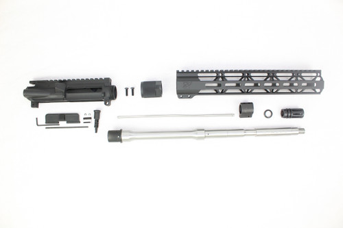 "Zaviar 16"" .223 Wylde Stainless Steel (M4) Upper Kit / 1:9 Twist / 12"" MLOK Handguard"