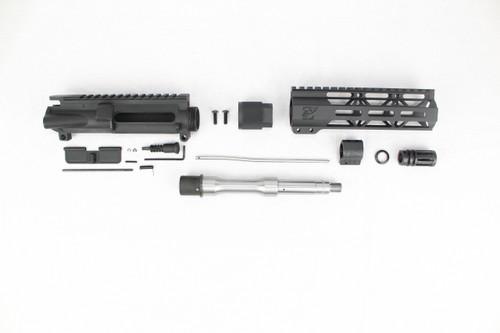 "ZAVIAR 7.5"" 5.56 NATO STAINLESS STEEL UPPER KIT / 1:7 TWIST / 7"" MLOK HANDGUARD"