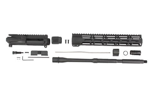 "ZAVIAR 16"" 5.56 NATO NITRIDE M4 UPPER KIT / 1:9 TWIST / 12"" MLOK HANDGUARD"