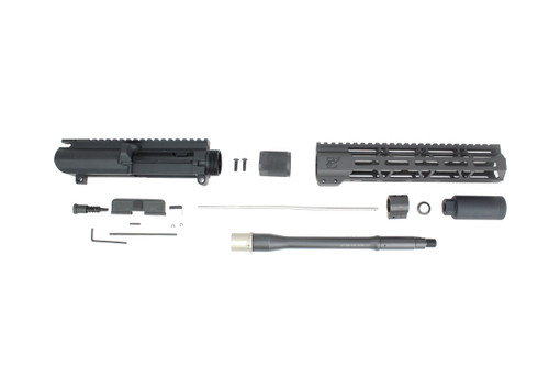 "ZAVIAR 10.5"" 5.56 NATO NITRIDE UPPER KIT / 1:7 TWIST / 10"" MLOK HANDGUARD"