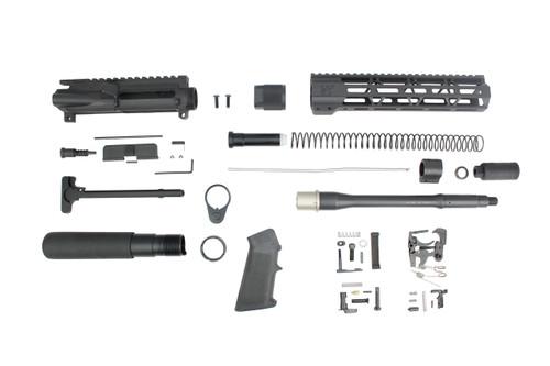 "Zaviar Firearms 5.56 Nato 'Operator Series' 10.5"" Nitride Builder Kit / 1:7 Twist / 10"" MLOK Handguard"
