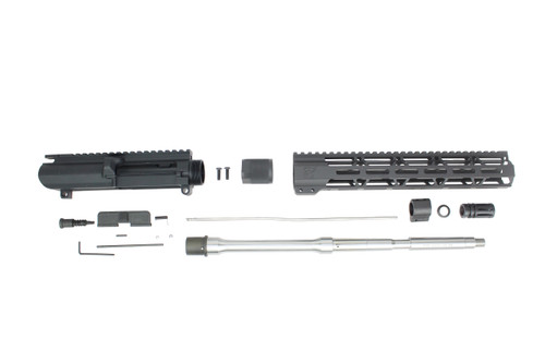 "ZAVIAR 16"" 5.56 NATO STAINLESS STEEL M4 UPPER KIT / 1:8 TWIST /  12"" MLOK HANDGUARD"
