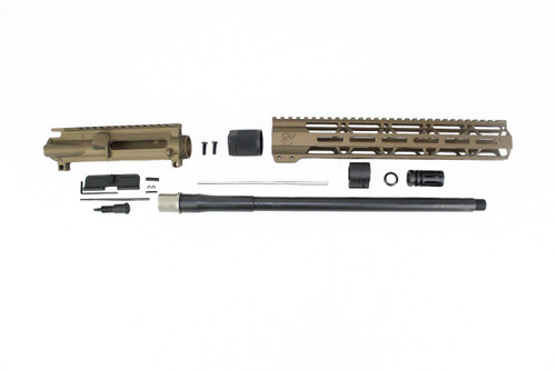 "300AAC Blackout 'Special Ops Series' Burnt Bronze 16"" Nitride Upper Kit / 1:8 Twist / 12"" MLOK Handguard"