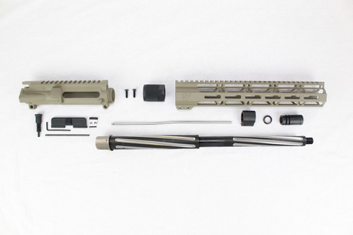 "7.62 x 39 'Wolverine Series' Magpul FDE 16"" Bear Claw Upper Kit / 1:10 Twist / 12"" MLOK Handguard"