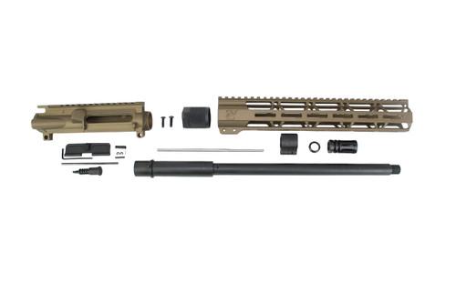 "300AAC Blackout 'Special Ops Series' Burnt Bronze 16"" Parkerized Upper Kit / 1:8 Twist / 12"" MLOK Handguard"