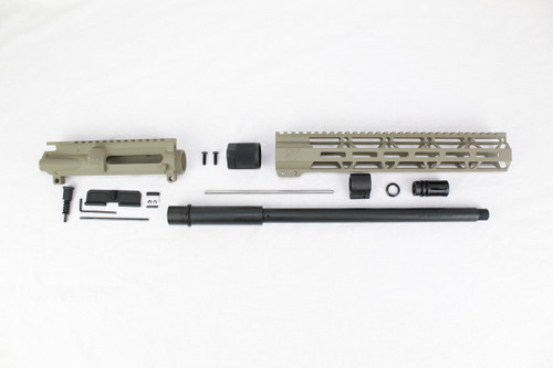 "ZAVIAR 16"" PARKERIZED 300AAC BLACKOUT MAGPUL FDE UPPER KIT / 1:8 TWIST / 12"" MLOK HANDGUARD"