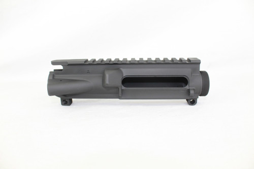 ZAVIAR BLACK CERAKOTED MIL-SPEC AR15 STRIPPED UPPER RECEIVER