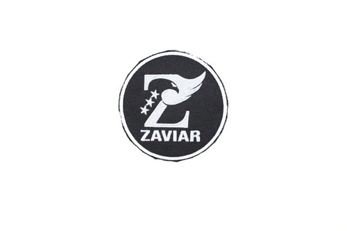 ZAVIAR White Logo Patch