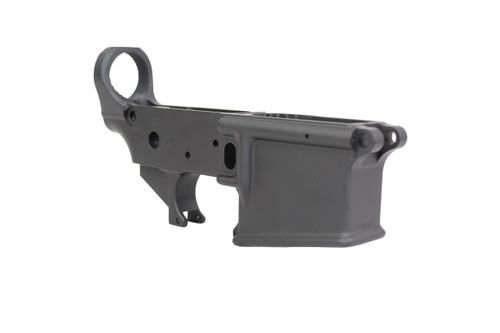 Zaviar Black MIL-SPEC AR15 Stripped Lower Receiver