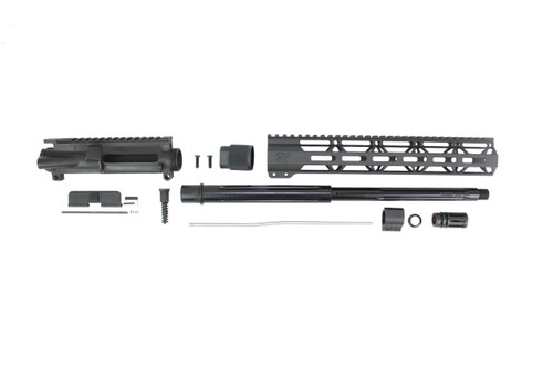 "ZAVIAR 16"" 7.62x39 STRAIGHT FLUTED UPPER KIT / 1:10 TWIST /12"" MLOK HANDGUARD"