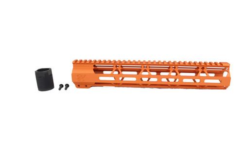 "ZAVIAR TEQUILA SUNRISE CERAKOTED 12"" MLOK Free-Float Handguard AR-15"