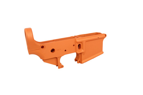 Zaviar TEQUILA SUNRISE CERAKOTED MIL-SPEC AR15 Stripped Lower Receiver