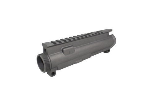 ZAVIAR TUNGSTEN GREY CERAKOTED MIL-SPEC AR15 STRIPPED UPPER RECEIVER