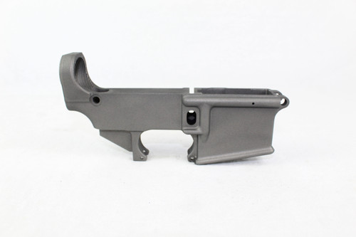 ZAVIAR TUNGSTEN GREY CERAKOTED FORGED 80% LOWER RECEIVER