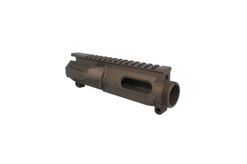 ZAVIAR MIDNIGHT BRONZE CERAKOTED MIL-SPEC AR9/AR22 STRIPPED UPPER RECEIVER