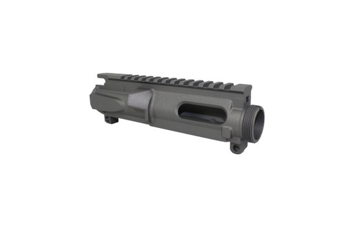 ZAVIAR TUNGSTEN GREY CERAKOTED MIL-SPEC AR9/AR22 STRIPPED UPPER RECEIVER