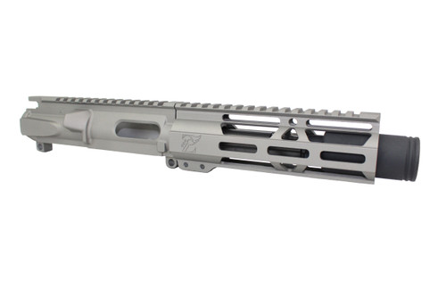 "Z9 'Stinger PDW' STAINLESS STEEL CERAKOTE 9mm Assembled Upper Receiver | 4.5"" Barrel 