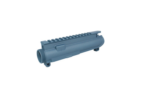 ZAVIAR TITANIIUM BLUE CERAKOTED MIL-SPEC AR9/AR22 STRIPPED UPPER RECEIVER