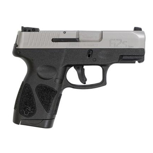 "Taurus G2S 9mm Sil/Blk 3.25"""