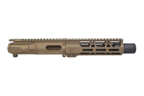 "Z9 'Stinger PDW' 9mm Assembled Upper Receiver Burnt Bronze | 5.5"" Barrel 