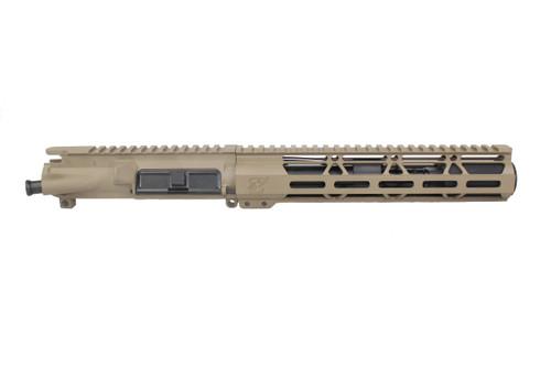 """ZAVIAR AR-15 7.5"""" 300AAC BLACKOUT MAGPUL FDE NITRIDE / 10"""" HANDGUARD ASSEMBLED UPPER RECEIVER"""