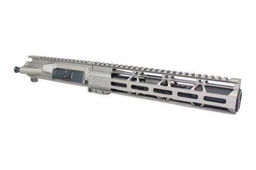 """ZAVIAR AR-15 7.5"""" 300AAC BLACKOUT STAINLESS STEEL NITRIDE / 10"""" HANDGUARD ASSEMBLED UPPER RECEIVER"""