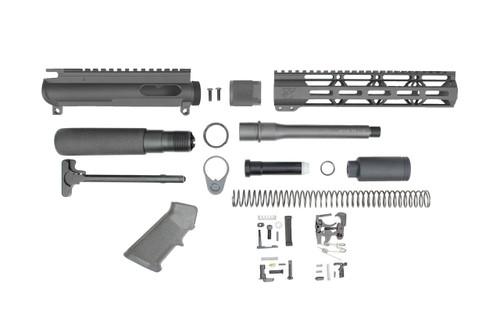 """9mm 'Stinger Series' 7.5"""" - 8.5"""" Overall Nitride Builder Kit / 1:10 Twist / 10"""" MLOK Handguard (Z40432)"""