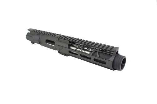 "40 S&W 4.5"" - 5.5"" Overall Stainless Steel Upper Receiver / 1:12 Twist / 7"" MLOK Handguard"