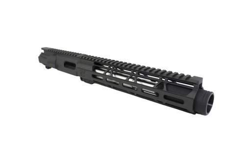 "40 S&W 7.5"" - 8.5"" Overall Stainless Steel Upper Receiver / 1:12 Twist / 10"" MLOK Handguard"