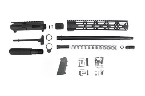 "40 S&W 16"" Overall Nitride Builder Kit / 1:12 Twist / 12"" MLOK Handguard"