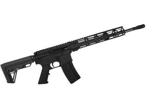 ".223 Wylde 'Operator Series' 16"" Black Wolf Complete Rifle / 1:8 Twist / 12"" MLOK Handguard"