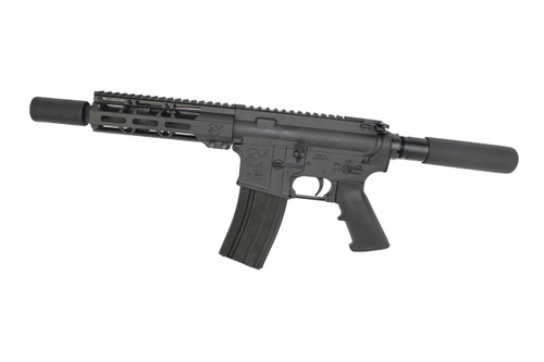 "300AAC Blackout 'Special Ops Series' 10.5"" Nitride Complete Pistol / 1:8 Twist / 12"" MLOK Handguard / Flash Can"