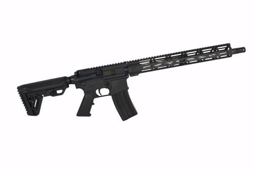 ".223 Wylde 'Operator Series' 16"" Spiral Fluted Complete Rifle / 1:8 Twist / 15"" MLOK Handguard"