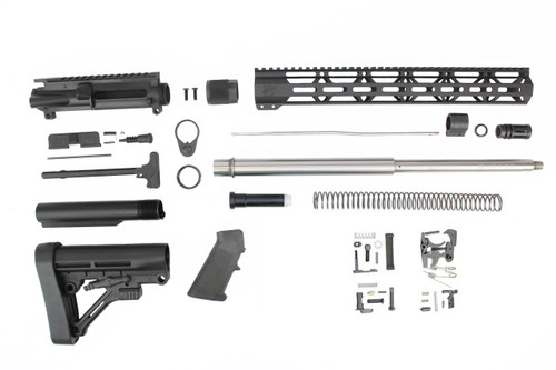 ".223 Wylde 'Operator Series' 18"" Stainless Steel HBar Builder Kit / 1:8 Twist / 15"" MLOK Handguard"