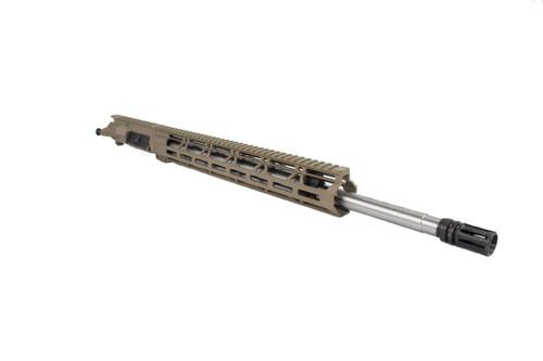 ".223 Wylde 'Operator Series' Magpul FDE 20"" Stainless Steel HBar Upper Receiver / 1:8 Twist / 15"" MLOK Handguard"