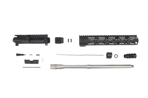 ".223 Wylde 'Operator Series' 16"" Stainless Steel Government Upper Kit / 1:8 Twist / 12"" MLOK Handguard"