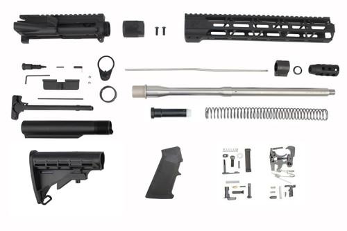 ".223 Wylde 'Operator Series' 16"" Stainless Steel Government Builder Kit / 1:8 Twist / 12"" MLOK Handguard"