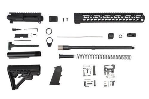 "5.56 Nato 'Operator Series' 16"" Nitride Government Builder Kit / 1:8 Twist / 15"" KeyMod Handguard"